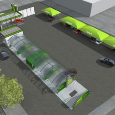 Infografia 3D. Renders per industrial a Girona. anbimedia.com